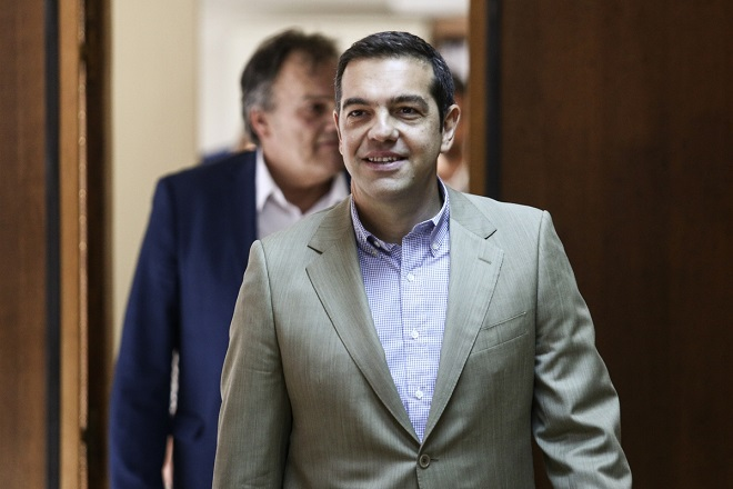 Greece's Prime Minister Alexis Tsipras visits the Ministry for Labour, in Athens, on July 17, 2017 / Επίσκεψη του Αλέξη Τσίπρα στο Υπουργείο Εργασίας, στην Αθήνα, στις 17 Ιουλίου, 2017
