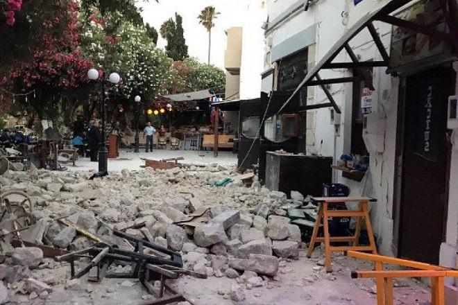 Ισχυρός σεισμός στην Κω με δυο νεκρούς και πολλούς τραυματίες