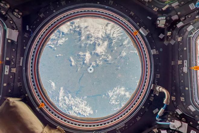 Η Google μας ξεναγεί στο Διεθνή Διαστημικό Σταθμό