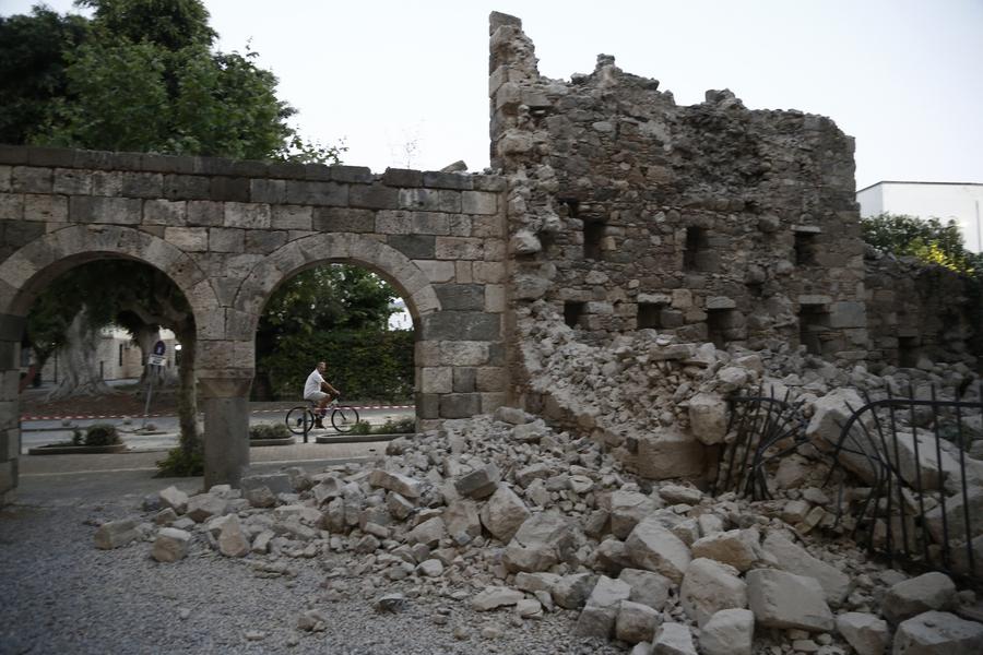 Η Κως προσπαθεί να επιστρέψει στην ομαλότητα μετά τον καταστροφικό σεισμό