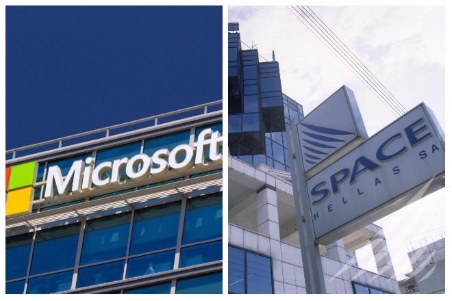 Επέκταση συνεργασίας Space Hellas και Microsoft