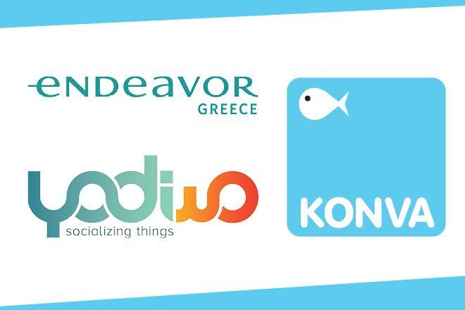 ΚΟΝΒΑ και Yodiwo οι δύο νέες εταιρείες του δικτύου της Endeavor