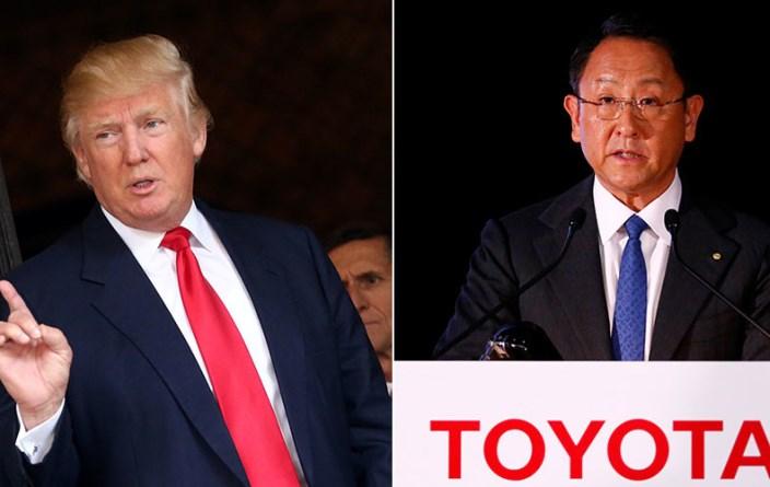 Ντόναλντ Τραμπ εναντίον Toyota σημειώσατε…άσσο