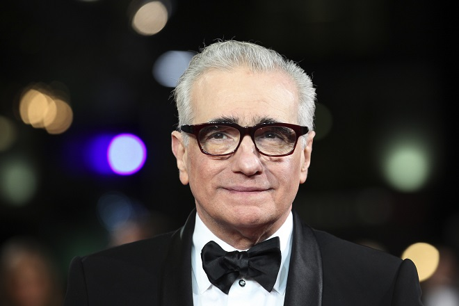 Director Martin Scorsese arrives at The Royal Premiere of his film Hugo at the Odeon Leicester Square cinema in London November 28, 2011 REUTERS/Olivia Harris (BRITAIN - Tags: ENTERTAINMENT ROYALS SOCIETY)