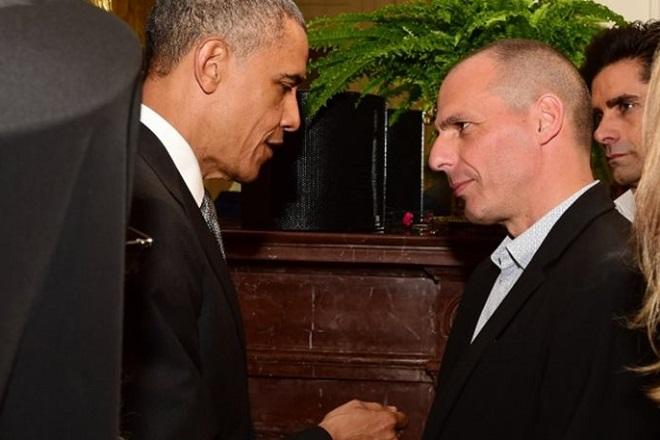 Προτροπές Ομπάμα σε Βαρουφάκη για συμφωνία με την Ευρώπη