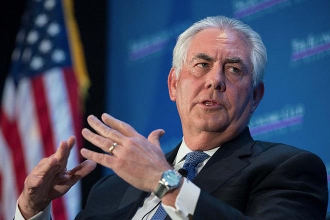 Τίλερσον: «Δεν υπάρχει θέση για το μίσος και τον ρατσισμό» στον αμερικανικό δημόσιο διάλογο