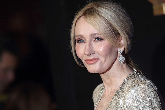"""LONDON, ENGLAND - NOVEMBER 15: J.K. Rowling attends the European premiere of """"Fantastic Beasts And Where To Find Them"""" at Odeon Leicester Square on November 15, 2016 in London, England. (Photo by Mike Marsland/WireImage)  *** Local Caption *** J.K. Rowling"""