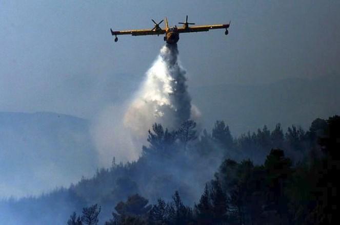 Χωρίς ενεργά μέτωπα οι πυρκαγιές σε Αττική και Ηλεία