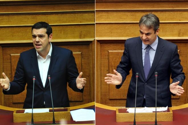 Νέα δημοσκόπηση: Με 6,5 μονάδες προηγείται η ΝΔ του ΣΥΡΙΖΑ