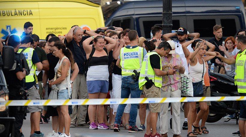 Τρόμος στην Ισπανία: Δύο επιθέσεις, 14 νεκροί και τουλάχιστον 100 τραυματίες