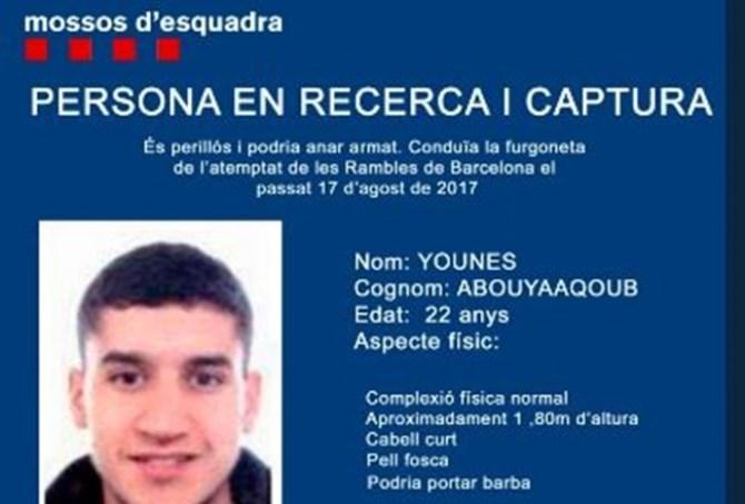 Βαρκελώνη: Νεκρός φέρεται να είναι ο βασικός ύποπτος για τις επιθέσεις