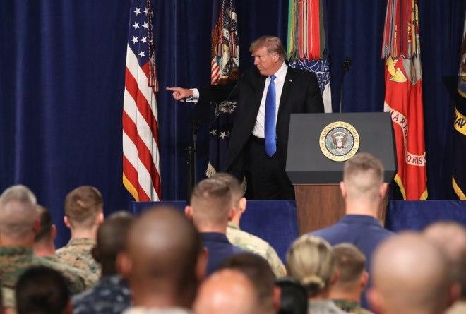 Τραμπ: Ενίσχυση των δυνάμεων των ΗΠΑ στο Αφγανιστάν. Οι Ταλιμπάν και ο «τζιχάντ»
