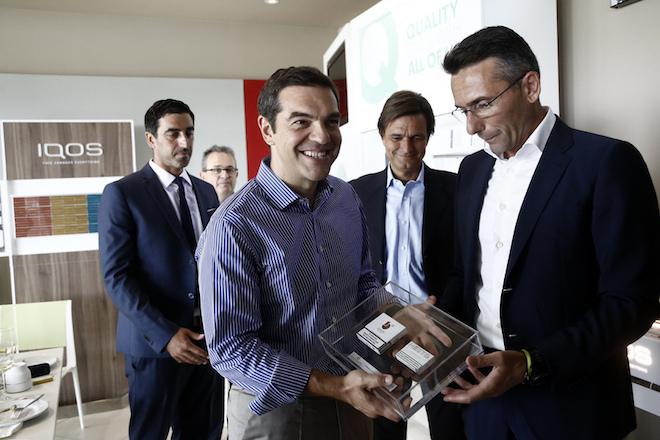 Ο Τσίπρας στην Παπαστράτος: Η επένδυση 300 εκατ. ευρώ, ψήφος εμπιστοσύνης στην ελληνική οικονομία
