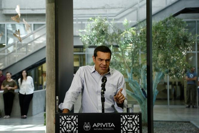 Με την… Μπαρτσελόνα παρομοίασε την Apivita o Τσίπρας