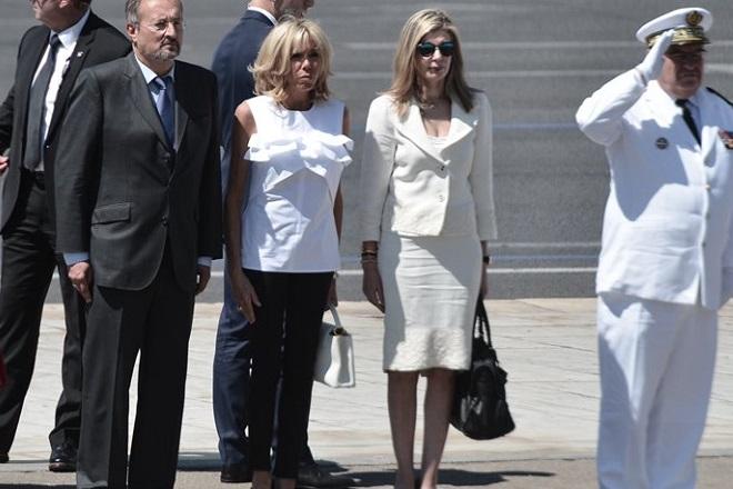 Η στυλιστική επιλογή της Μπριζίτ Μακρόν για την επίσκεψή της στην Ελλάδα!