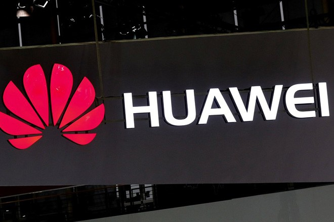 epa05859237 A Huawei logo at the CeBIT computing trade fair in Hanover, northern Germany, 20 March 2017. Reports state that more than 3.000 exhibitors from 70 countries are showing their products and solutions at the fair which expects to see about 200.000 visitors from 20 to 24 March 2017.  EPA/FOCKE STRANGMANN