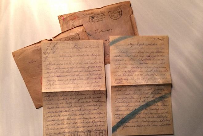 Το Facebook δημοσίευσε ερωτικές επιστολές από τον Β' Παγκόσμιο Πόλεμο