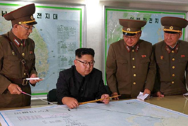 H B. Κορέα εκτόξευσε νέο πύραυλο πάνω από την Ιαπωνία