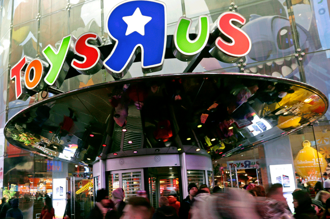 Τέλος εποχής: Χρεοκοπεί η εταιρεία παιχνιδιών Toys R US