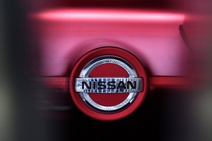 epa06241144 The Nissan logo is seen on a prototype vehicle at the carmaker showroom in central Tokyo, Japan, 03 October 2017. On 03 October, Nissan shares rebounded after plunging by five percent on 02 October as the carmaker announced it will recall 1.2 million vehicles in Japan. The recall costs could reach 220 million US dollar and covers 24 models, including the Note and Leaf electric car.  EPA/FRANCK ROBICHON