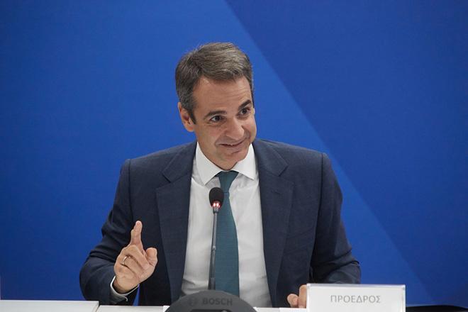 Ο πρόεδρος της Νέας Δημοκρατίας Κυριάκος Μητσοτάκης μιλάει κατά τη διάρκεια της  συνεδρίασης των Τομεαρχών, την Τετάρτη 27 Σεπτεμβρίου 2017,  στα κεντρικά γραφεία του κόμματος. ΑΠΕ-ΜΠΕ/ΓΡΑΦΕΙΟ ΤΥΠΟΥ ΝΔ/ΔΗΜΗΤΡΗΣ  ΠΑΠΑΜΗΤΣΟΣ