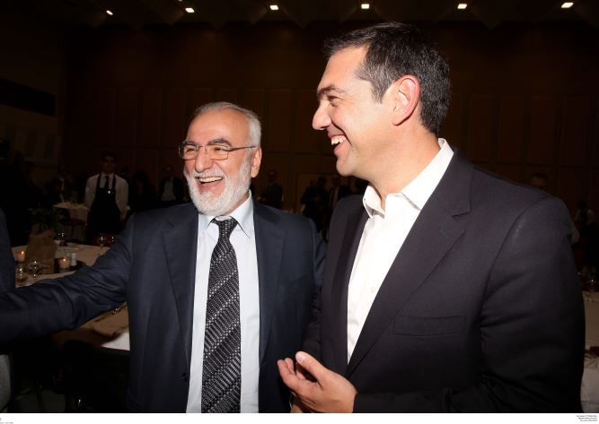 Τσίπρας και Σαββίδης τα είπαν στη Θεσσαλονίκη (φωτό)