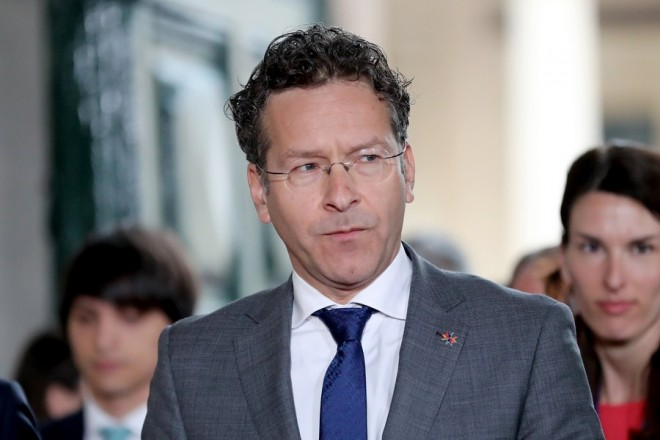 epaselect epa05893899 Jeroen Dijsselbloem, The Netherlands' Minister of Finance and Eurogroup President arrives for the Informal Meeting of Economic and Financial Affairs Ministers (ECOFIN) at the Grandmaster's Palace in Valletta, Malta, 07 April 2017. The informal meeting of EU Finance Ministers, taking place every six months according to the rotating Presidency of the EU Council, runs from 07 to 08 April. Malta took over the EU Presidency on 01 January 2017.  EPA/DOMENIC AQUILINA
