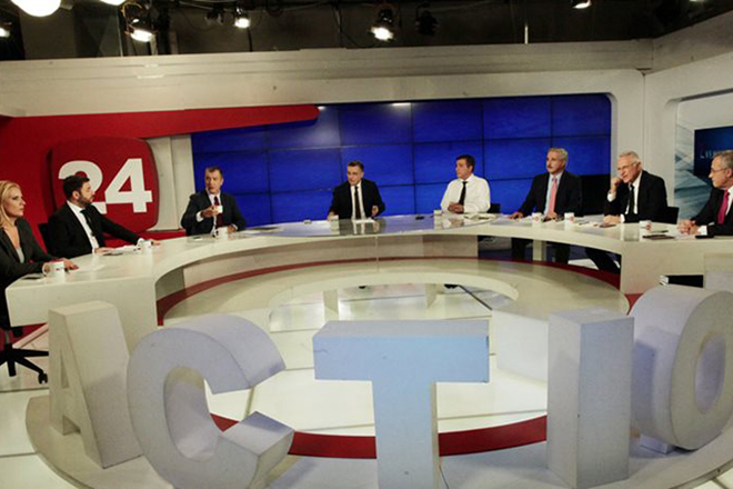 Οι κόντρες των πέντε στο debate της Κεντροαριστεράς