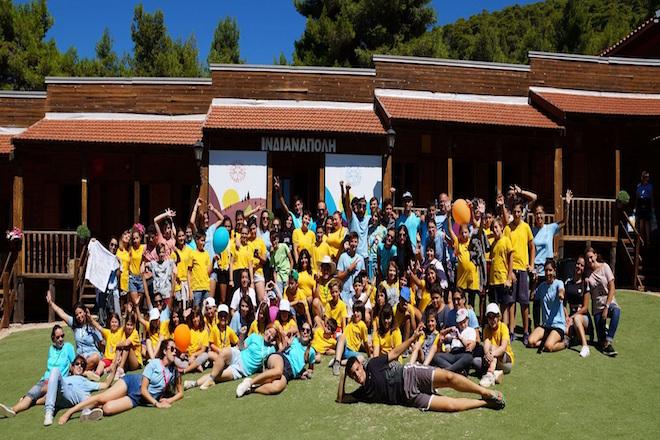 Η Ελληνική Πρωτοβουλία υποστήριξε την υλοποίηση της 1ης Θεραπευτικής Κατασκήνωσης για παιδιά