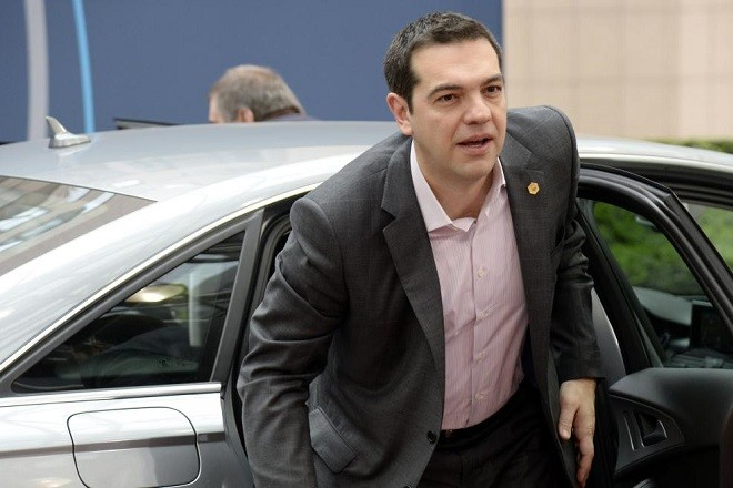 Greek Prime Minister Alexis Tsipras arrives for a European summit in Brussels on March 20, 2015.   Greece agreed to give creditors a new list of reforms to get its bailout back on track after Prime Minister Alexis Tsipras held crunch talks with European leaders. AFP PHOTO /  THIERRY CHARLIERTHIERRY CHARLIER/AFP/Getty Images