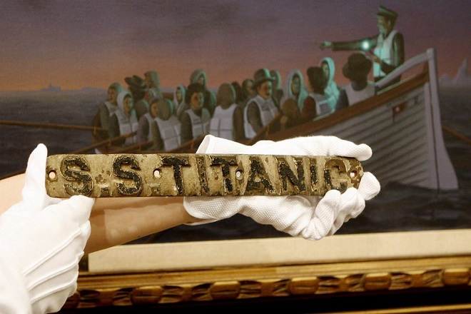Xειρόγραφη επιστολή επιβάτη του Τιτανικού βγαίνει σε δημοπρασία