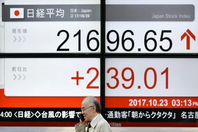 Ρεκόρ 20ετίας για το χρηματιστήριο του Τόκιο