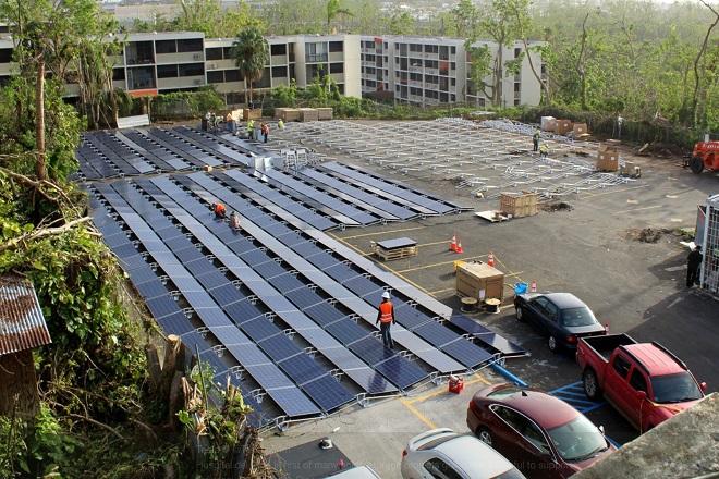 Η Tesla πρωτοστατεί στην αποκατάσταση των ζημιών στο Πουέρτο Ρίκο