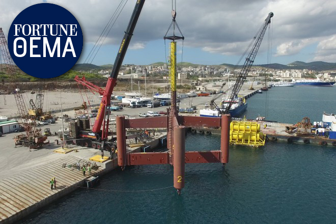 FloatMast: Μια μοναδική ελληνική καινοτομία για τη θαλάσσια οικονομία