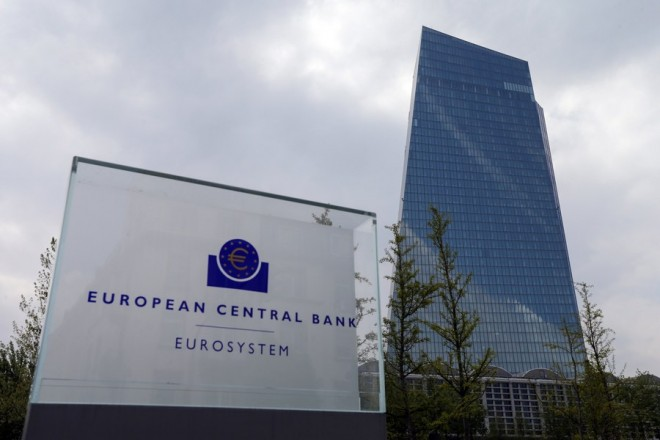 epa06098952 (FILE) - The European Central Bank (ECB) in Frankfurt Main, Germany, 27 April 2017. Reports on 20 July 2017 state the ECB left the interest rates unchanged as the bank's governing council met to discuss the rates.  ECB left its main rate at 0.00 per cent, while deposit facility was at -0.4 per cent.  EPA/ARMANDO BABANI