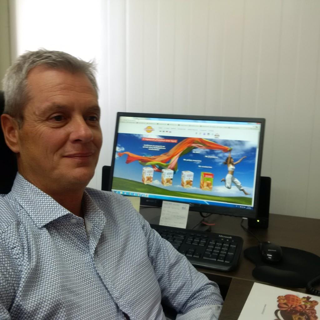 Ο Εμπορικός Διευθυντής της εταιρείας ΒΙΟΛΑΝΤΑ, Χρήστος Κατσούλας.