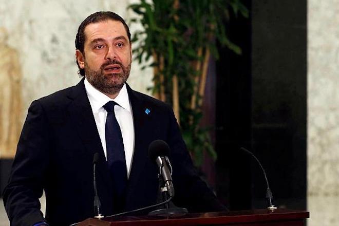 Στο Παρίσι μεταβαίνει ο παραιτηθείς πρωθυπουργός του Λιβάνου