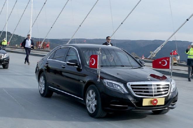 Ένα αυτοκίνητο με το όνομα… Ερντογάν