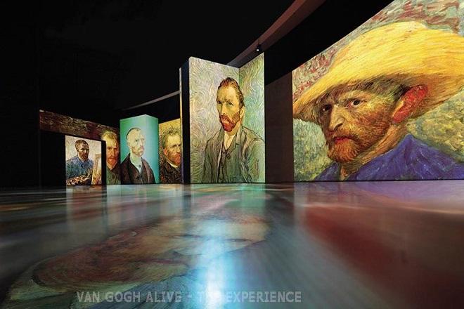 Van Gogh Alive στο Μέγαρο Μουσικής Αθηνών