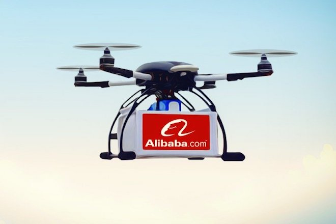 Η Alibaba ξεκίνησε τις διανομές πακέτων με drones