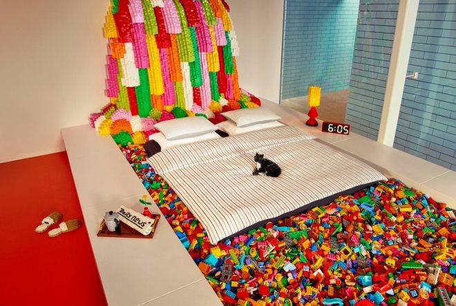 Airbnb και Lego σας στέλνουν σε σπίτι φτιαγμένο από 25 εκατ. τουβλάκια!