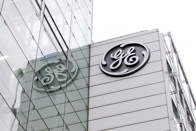 epa05118227 FILE) A file photo dated 13 January 2016 showing an erterior view on the General Electric (GE) offices in Baden, Switzerland, 13 January 2016. GE on 22 January 2016 reported a total profit of 6.28 billion USD for 2015, from 5.15 billion USD the previous year. Troubles in the oil industry and at GE's operations catering businesses of gas and oil production brought lower 2015 4th quarter profits of 8 per cent from 5.99 billion USD to 5.52 billion USD.  EPA/URS FLUEELER