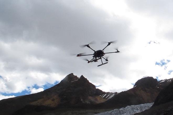 Αυτό είναι το πρώτο drone που έφτασε τα 5.000 μέτρα