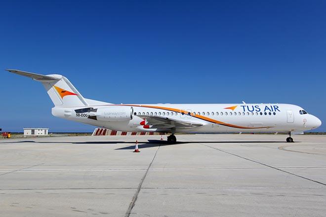 Η TUS Airways συνδέει με απευθείας πτήσεις Θεσσαλονίκη και Λάρνακα