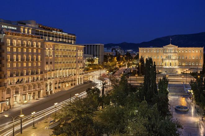 Στα «χέρια» της Λάμψα Α.Ε. το ξενοδοχείο King George προς 43 εκατ. ευρώ