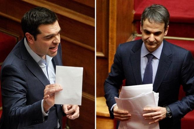 Μαξίμου: Διακαναλικό debate Τσίπρα-Μητσοτάκη για τη Συμφωνία των Πρεσπών στις αρχές της επόμενης εβδομάδας