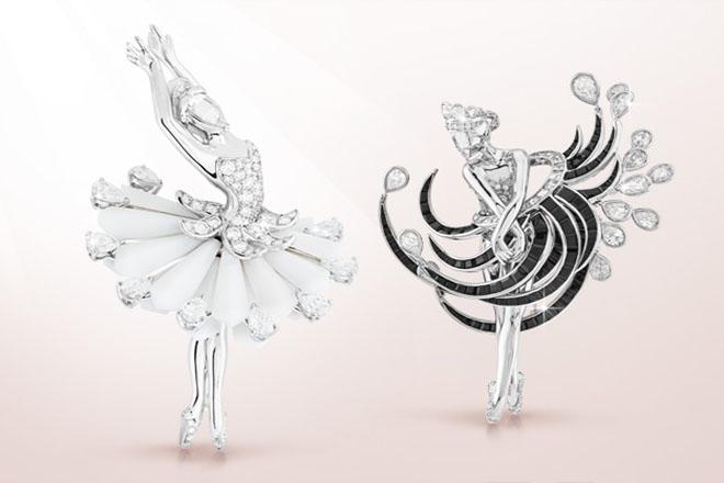 Οι «Πολύτιμες Μπαλαρίνες» του οίκου Van Cleef & Arpels «χορεύουν» στο Παρίσι