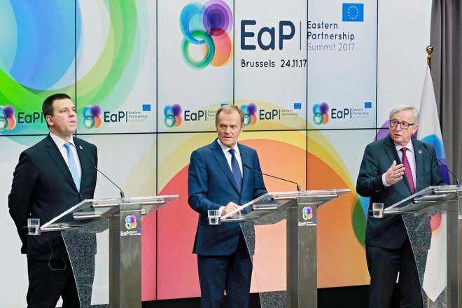 Σύνοδος Κορυφής: Ακόμη πιο κοντά με τις χώρες της ανατολικής Ευρώπης ήρθε η ΕΕ