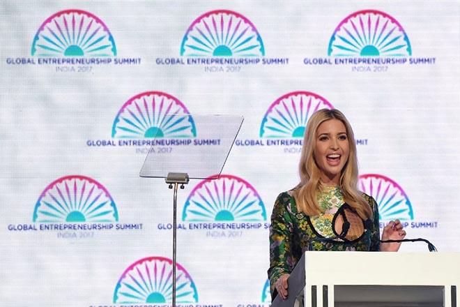 Η Ιβάνκα Τραμπ στον αγώνα για την προώθηση της γυναικείας επιχειρηματικότητας