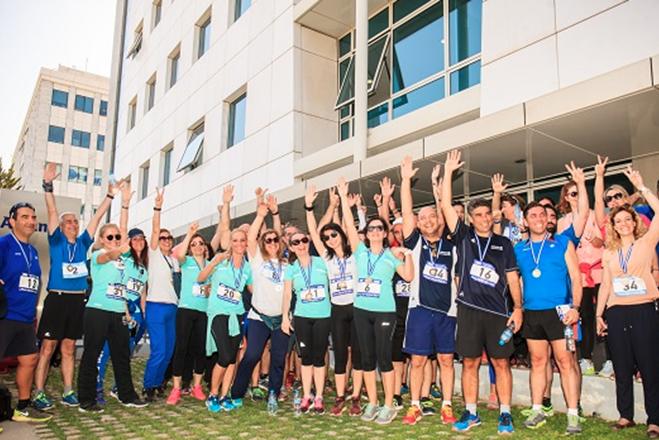 Η Allianz Ελλάδος συμμετείχε στο Allianz World Run 2017 για τη στήριξη των Παιδικών Χωριών SOS